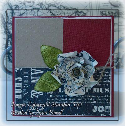 Floral Die Card