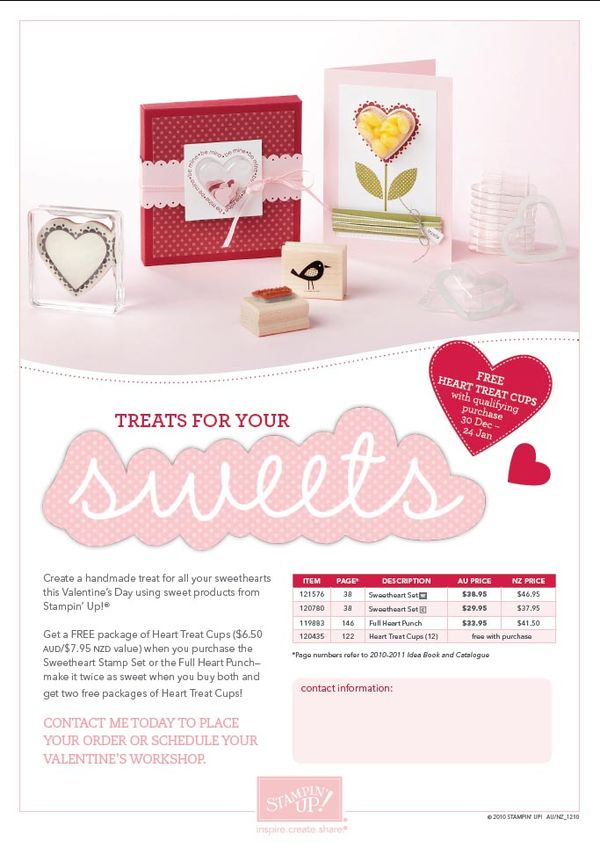Sweethearts Promotion
