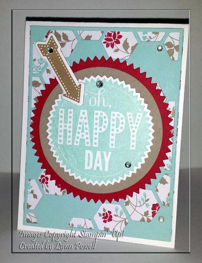 Happy Day Hexagon