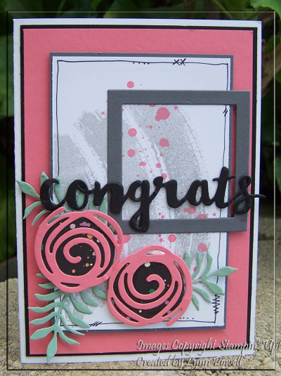 Swirly Congrats