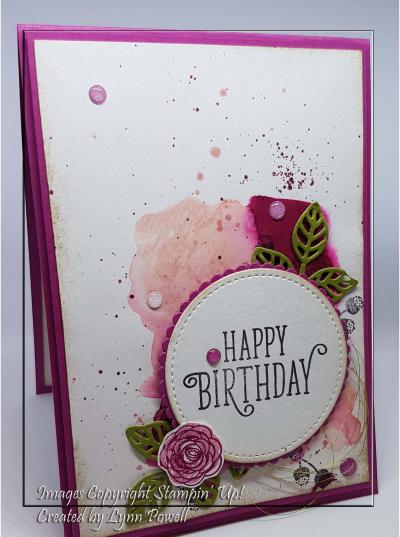 Happy Birthday Gorgeous Watercolour