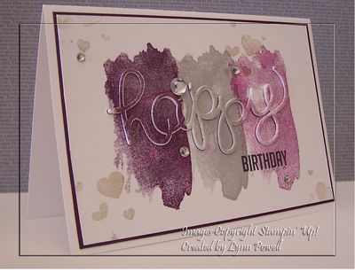 WATERCOLOUR BIRTHDAY